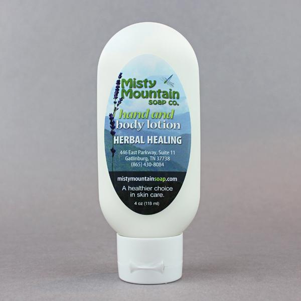 herbal healing lotion