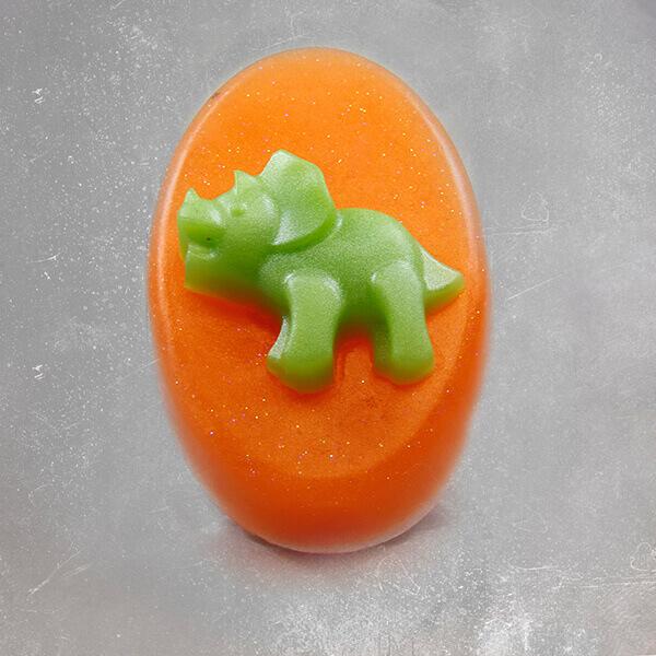 Dinosaur Soap