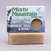 oatmeal milk and honey handmade soap