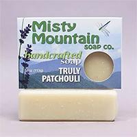 natural patchouli soap