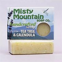 natural soap tea tree and calendula soap