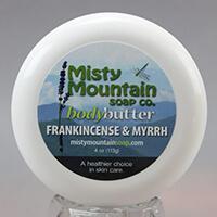 frankincense and myrrh body butter
