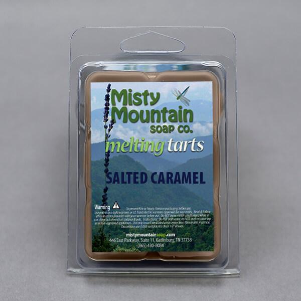 salted caramel wax melt