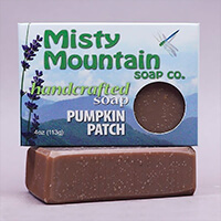 pumpkin spiced bar soap